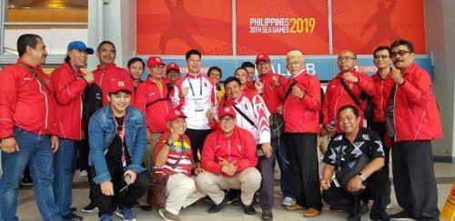 Tim Renang Indonesia di SEA Games 2019