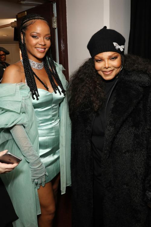 Rihanna termasuk orang yang terinspirasi olehnya dan beberapa kali mengakui hal tersebut.