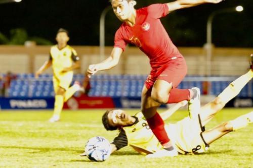 Osvaldo Haay jadi andalan di lini depan Timnas Indonesia U-22 (Foto: PSSI)