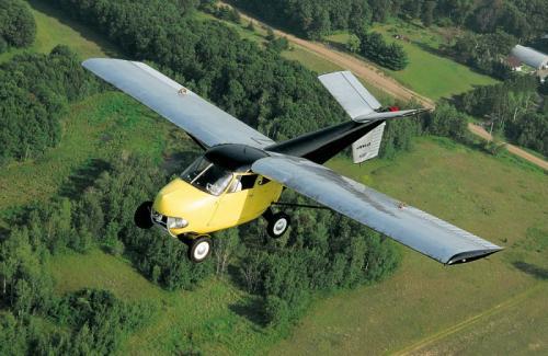 Mobil terbang pertama dunia
