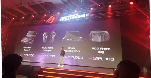 Asus akhirnya resmi membawa ponsel gaming terbarunya ROG Phone II.