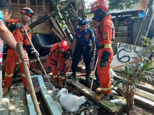 Penemuan Cangkang dan Telur Ular Kobra di Dekat Pemukiman Warga di Cibinong, Bogor, Jabar (foto: Dinas Pemadam Kebakaran Kabupaten Bogor )