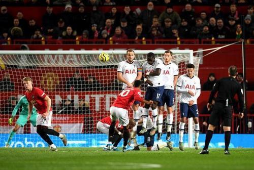 Laga Manchester United vs Tottenham Hotspur