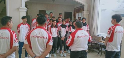 Timnas Taekwondo yang tampil di SEA Games 2019