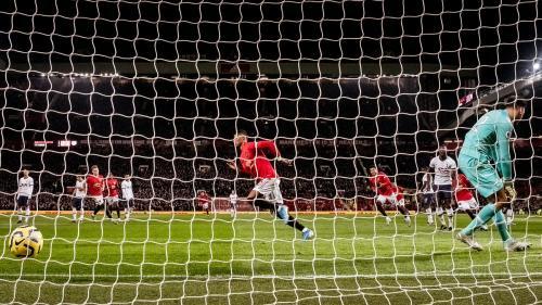 Man United menang 2-1 atas Tottenham Hotspur di tengah pekan (Foto: Premier League)