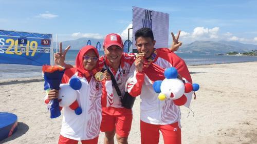 Pentathlon sumbang dua emas di hari kelima SEA Games 2019