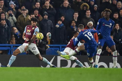 Laga Chelsea vs Aston Villa
