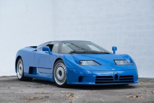 Super car bugatti klasik