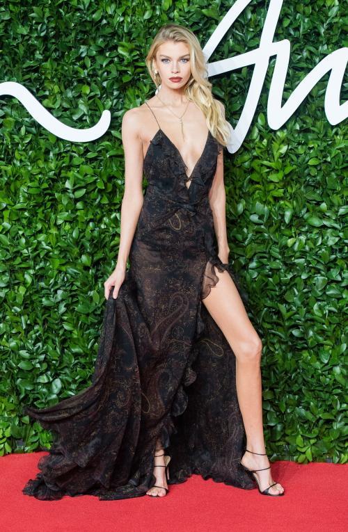 Para Supermodel di British Fashion Awards