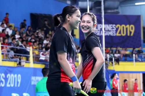 Ribka/Fadia ke perempatfinal SEA Games 2019