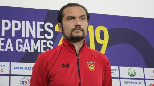 Pelatih Timnas Myanmar U-22, Velizar Popov