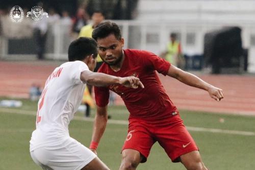 Timnas Indonesia U-22 vs Myanmar