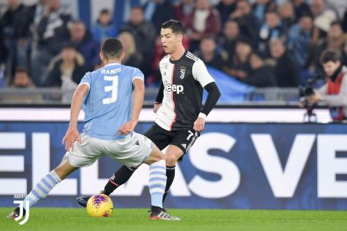 Cristiano Ronaldo vs Lazio (Foto: Juventus)