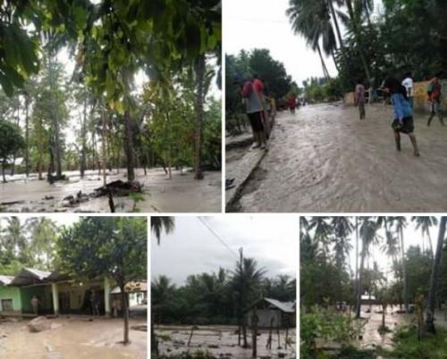 Banjir bandang Foto: BNPB
