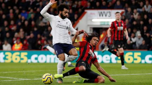 Suasana laga Bournemouth vs Liverpool
