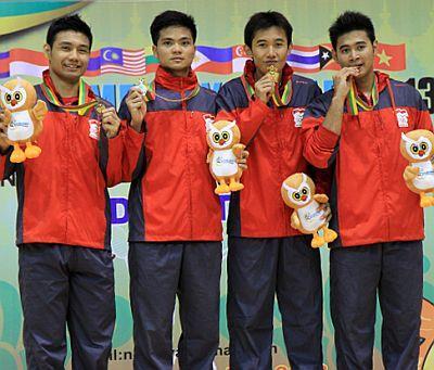 Indonesia Raih Emas di SEA Games 2013