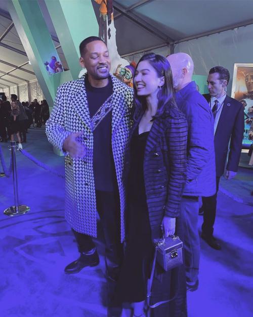 Raline Shah dan Will Smith