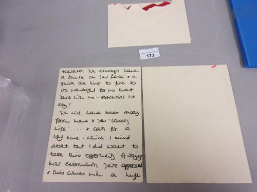 Surat tulisan tangan
