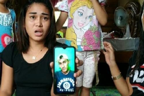 Foto pemuda yang bakar rumah kekasihnya di Palembang. (Sindonews)