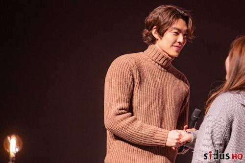 Kim Woo Bin menggelar fanmeeting untuk pertama kali setelah vakum dari dunia hiburan selama 3 tahun. (Foto: Sidus HQ)