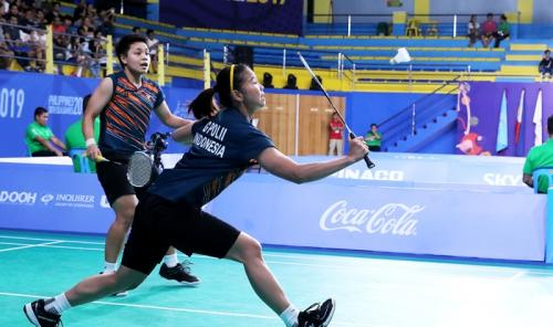 Greysia/Apriyani di SEA Games 2019