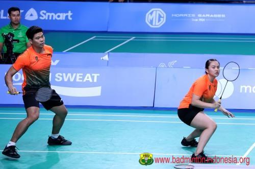 Praveen/Melati SEA Games 2019