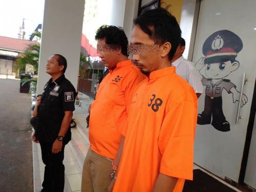 Polisi Gelar Perkara Kasus Driver Taksi Online Terlibat Peredaran Narkoba dan Kepemilikan Senpi (foto: Okezone/Hambali)