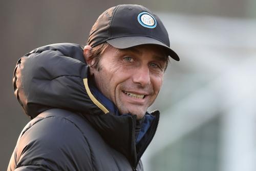 Antonio Conte saat menangani Inter Milan
