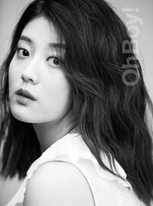 Ini akan menjadi peran berbeda bagi Nam Ji Hyun yang selama ini identik dengan lakon komedi romantis. (Foto: OhBoy! Magazine)