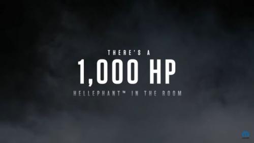 Dodge luncurkan mesin 1.000 Hp