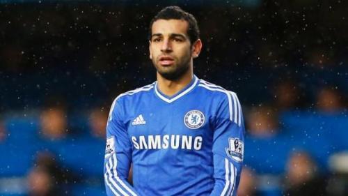 Mohamed Salah saat membela Chelsea