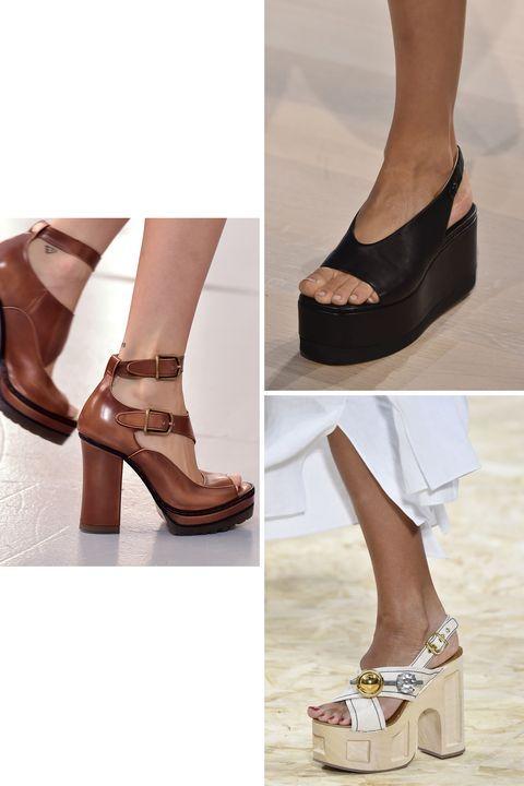 Bersiap-siap lah Anda pencinta sepatu dengan platform alias sol tebal dan tinggi.