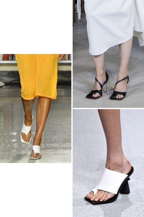 karena alas kaki dengan aksen minimalis masuk menjadi salah satu model alas kaki yang ngetren di 2020.