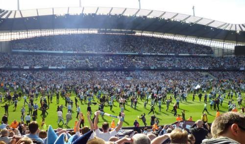 Man City raih Trofi Liga Inggris pada 2011-2012