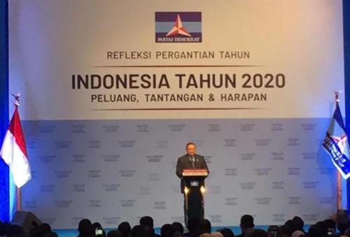SBY pidato politik pergantian tahun