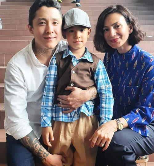 Wanda Hamidah memilih akur dengan mantan suami demi anak. (Foto: Instagram/@wanda_hamidah)