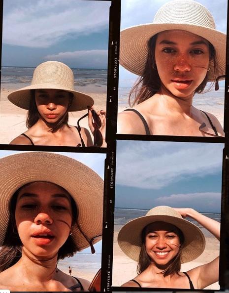 Yuki Kato selfie cantik