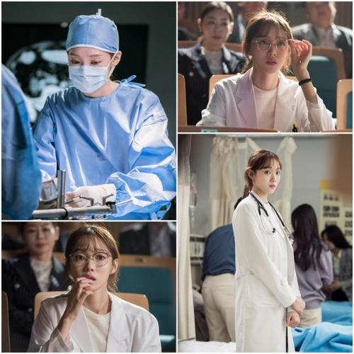 Aksi Lee Sung Kyung sebagai dokter dalam sekuel Romantic Doctor Kim. (Foto: SBS)