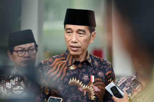 Presiden Jokowi. (Foto: @KemensetnegRI)