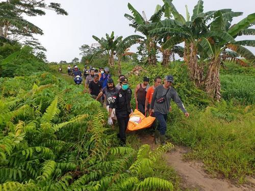 Pembunuhan Mbah Karsidi yang Digorok oleh Rekannya (foto: Okezone/Ade Putra)