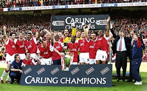 Arsenal raih Trofi Liga Inggris pada 1997-1998