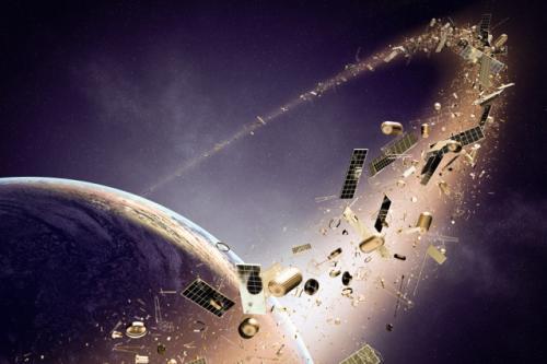 Pada 2025, ESA berencana meluncurkan pengumpul sampah pertama di dunia yang mengorbit di luar angkasa.