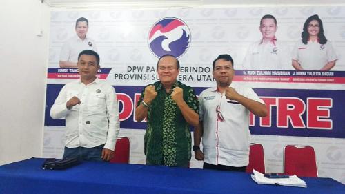 Mantan Pangdam Cendrawasih Maju Pilkada Nias Dari Perindo Mayjen TNI (Purn) Christian Zebua (foto: Okezone/Wahyudi AS)