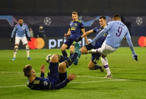 Man City vs Dinamo Zagreb