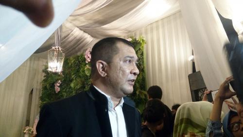 Gadaffi mengaku tak terkejut ketika Richard Kevin mendatanginya untuk meminta izin menikah. (Foto: Okezone/Vania Ika Aldida)