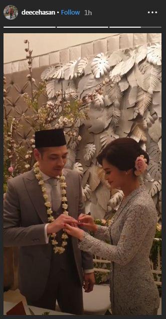 Cut Tari menikah