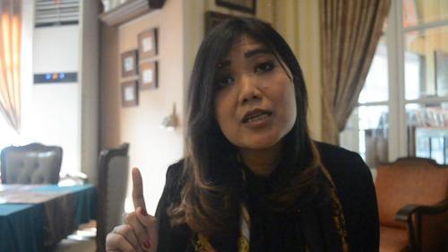 Sosok RR Mayyasari Gondhodiwiryo, Putri Solo Pembela Kaum Difabel (foto: iNews/Taufik Budi)