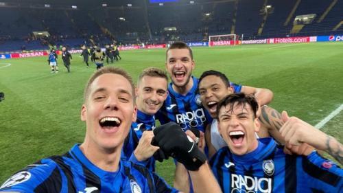 Atalanta lolos ke 16 besar Liga Champions 2019-2020 dengan dramatis (Foto: Twitter/Atalanta)