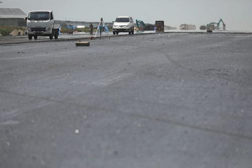 Pembangunan Bandara Ngloram, Blora, Jawa Tengah (foto: Ist)