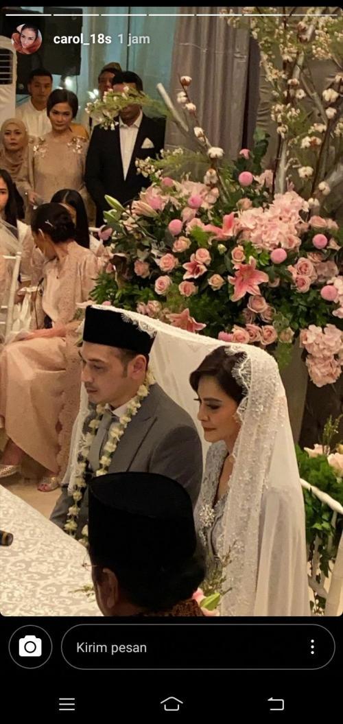 Gadaffi kakak Cut Tari mengaku adiknya dan Richard Kevin mulai berpacaran serius sejak 2 tahun silam. (Foto: InstaStory/@carol_18s